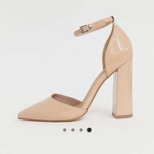 Asos design pointed toe heels